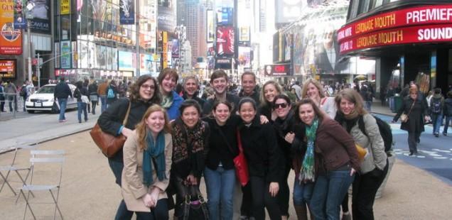 2011 SEGD Spring Break trip to NYC